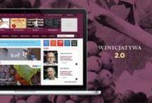Winicjatywa / Website redesign of the biggest Polish portal about wine Winicjatywa.pl / http://luksemburk.com/portfolio/winicjatywa