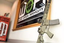WIDE OPEN ARMORY | PREMIER FIREARMS DISTRIBUTOR / High End Firearms & Class 3 Dealer. Distributor for Noveske Rifleworks, LWRC, Benchmade, Nemo Arms, Trijicon, Surefire