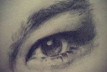 Eyes / Drawings and Idea's for eyes.