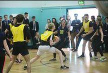 Girls v Boys' netball 2016 / A netball match to raise money for Aldworth's House charity