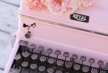 Typewriters / Perfect typewriters for any inspiring writer...