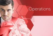 Operations - Operaciones / At Markdebrand we have an optimization model for the development of effective projects, considering costs, efficiency, and quality.