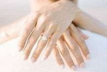 Engagement and Wedding Rings / Engagement rings, wedding bands, bling, baubles, and jewels galore!