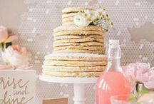 Wedding Desserts and Treats /   / by BRIDES