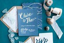 Wedding Invitations & Stationery / by BRIDES