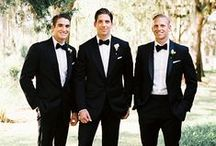 Grooms and Groomsmen / by BRIDES