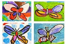 Butterfly Arts and Crafts for Kids / Butterfly-themed arts and crafts for children and the young-at heart.