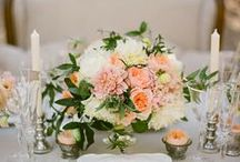 Peach Wedding Details / by BRIDES