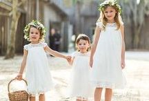 Flower Girls & Ring Bearers / by BRIDES