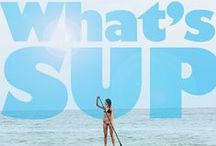 Stand Up Paddling (SUP) / Stand up paddle boarding, a fun and intense core workout on the water!