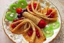 Edible Butterflies and Caterpillars / Butterfly and caterpillar inspired snacks