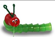 The Very Hungry Caterpillar / Creative ideas to use with Eric Carle's The Very Hungry Caterpillar!