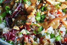 Salads...... / Salads and Dressings / by Jody Scott
