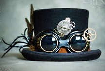 Steampunk / One renaissance festival and I knew I had to put something together. It's like Halloween meets vintage clothing mixed with crazy weapons and general badassery.  / by Luke Hunhoff