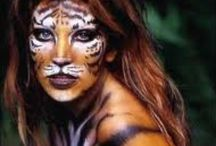 COSTUMES/FACEPAINTING / More Face Painting can be found on the Board Beauty/ Face Painting.