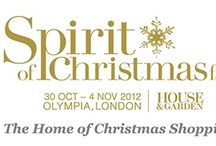 Spirit of Christmas, 2012 / The Spirit of Christmas Fair takes place between 30th October- 4th November at Olympia, London. Pictures on this board are from the various exhibitors there and can be bought from the fair.