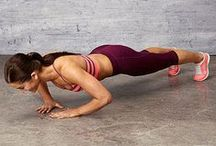 Upper Body Exercises / Exercises to strengthen and tone your upper body.