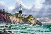 Lighthouses in the harbors / Love anything water related / by Tracey Thomas