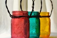 Just across the Mason Line / Mason jars & things to do with 'em / by Tracey Thomas