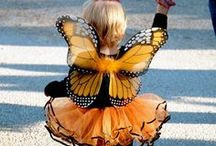 Butterfly Costumes / Dress up like a butterfly and fly away!