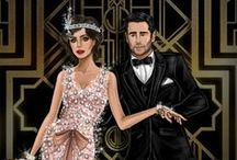 The Great Gatsby / Inspired by the film The Great Gatsby