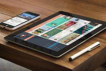 APPS UI design / iPad & iPhone Graphics User Interface.