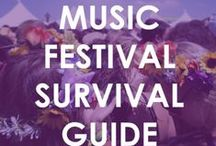 Music Festival Essentials / Whether you're headed to Coachella, Lollapalooza, Stagecoach, BottleRock Napa, etc., we have compiled a list of the top 5 music festival essentials you'll need!