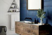 ⌂ Maison |  La salle de bain / Inspiration décoration pour la salle de bain.