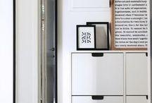 ⌂ Maison | L'entrée / Inspiration décoration pour l'entrée