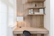 ⌂ Maison | Le bureau / Inspiration décoration pour le bureau.