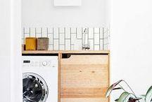 ⌂ Maison | La buanderie / Inspiration décoration pour la buanderie