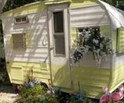 Glamping, Retro Trailers & Buses