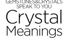 Crystals Meanings