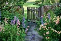 Country Gardens / Country gardens: English, chic, rustic, cottage
