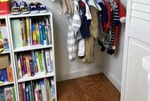 Montessori Organizion at Home / Get your home environment in order, Montessori style! Closets, shelves, storage boxes, homeschool, materials, bedrooms, the kitchen, and more!