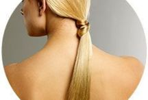 Hair tips & tricks / Cool hairstyles, tips, and tricks.