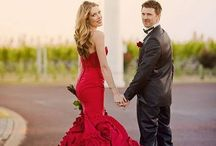Red || Wedding inspiration / Red || Wedding inspiration