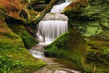 Waterfalls and Cascades / by Miriam Perez
