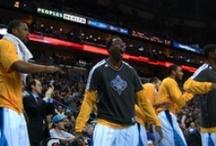 Pelicans Celebrating / Player Celebrations  / by Bourbon Street Shots