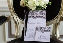 Black & White || Wedding Inspiration / Black & White || Wedding Inspiration