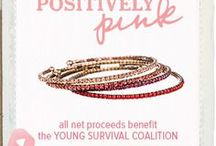 """October is Breast Cancer Awareness Month / https://www.chloeandisabel.com/boutique/moorecreative Now through Thursday, October 31, 2013, Chloe + Isabel will donate all net proceeds from the sale of items from our special """"Positively Pink"""" Collection to the Young Survivor Coalition. Additional items from our """"Positively Pink"""" collection will be posted."""