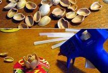 MANUALITATS PALS DE POLO I FUSTA / Manualitats per realitzar amb pals de polo, escuradents i altres elements de fusta. / by Aina
