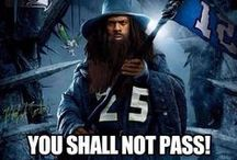 Richard Sherman Funny / Funny stuff from fans