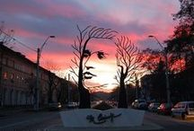 Inspirational Public Art / A creative collection of public art.