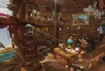 My Portfolio & Work / http://blog.naver.com/asws3   게임배경디자이너를 꿈꾸는  청대나무의 포트폴리오입니다.