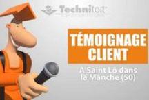 Témoignages clients Technitoit / Vidéo témoignage des clients de Technitoit pour la réalisation de rénovation de toiture ou façade, de la pose de menuiserie ou d'isolation, de l'installation de solutions de chauffage ou ventilation.