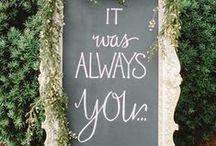 Weddingsign || Wedding Inspiration / Weddingsign || Wedding Inspiration