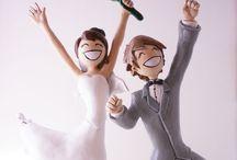 Mariage / Aquarelle et dentelle