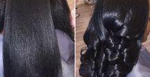 Long Natural Hair Straightened / Long natural hair straightened, long natural hair styles, type 4 straightened