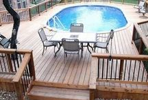 Outdoor deck and patio